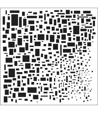"TCW 12x12"" Template/Schablone Cubist"