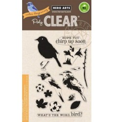 Hero Arts Clear Stempel Bird & Branch