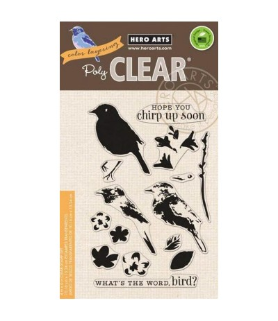 Hero Arts Clear Stamps Bird & Branch
