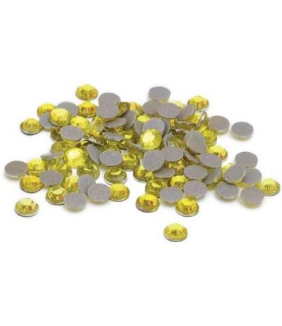 Lot de strass / Strasssteine Yellow 3mm - Silhouette Amerika