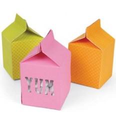 Sizzix Stanzschablone Milk Box