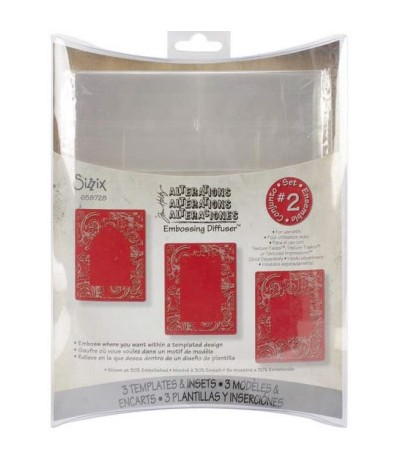 Sizzix & Tim Holtz Embossing Diffuser Set 2
