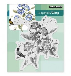 Penny Black Cling Stempel Trumpet Song