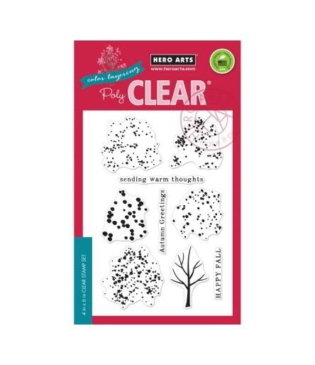 Hero Arts Clear Stempel Fall Trees