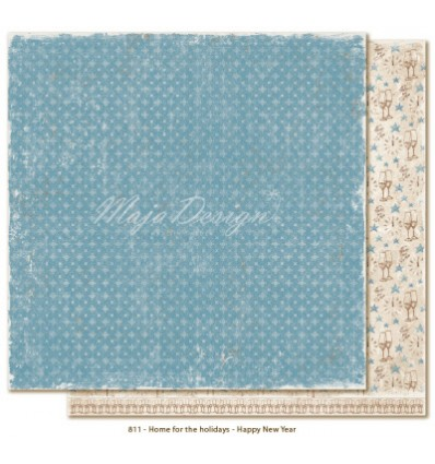 Maja Design Scrapbook Papier Home for the Holidays Happy New Year