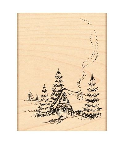 Waldhaus Holzstempel - Penny Black