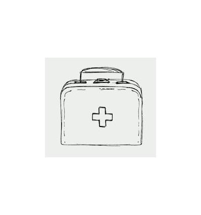 HeinDesign Holz Stempel Arztkoffer