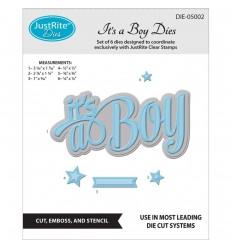 JustRite Stanzschablone It's a Boy