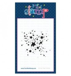 your next stamp - Star Splatter Clear Stempel