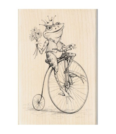 Inkadinkado Whimsical Frog Stempel
