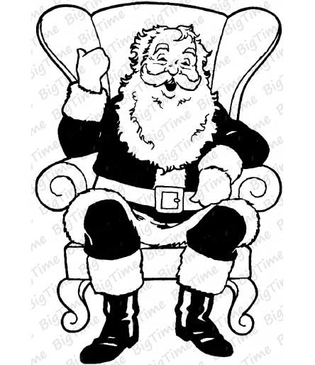 Santa Claus Stempel