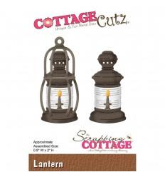 Stanzschablone Laterne - Cottage Cutz