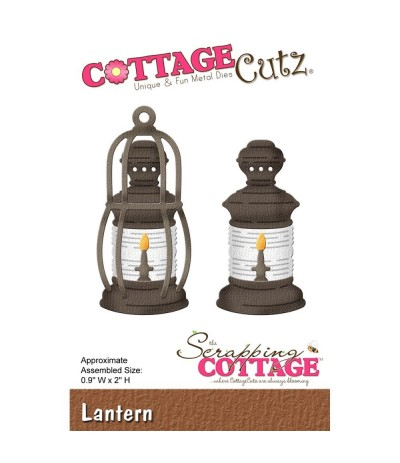 Stanzschablone Laterne - Cottage Cutz