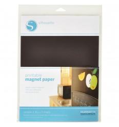 Bedruckbares Magnetpapier - Silhouette