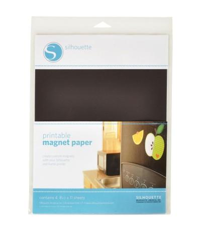 Bedruckbares Magnetpapier von Silhouette