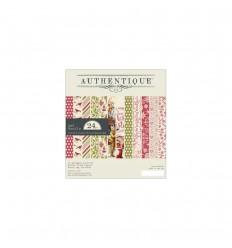 Scrapbooking Papier Christmastime 6x6 Bundle - Authentique