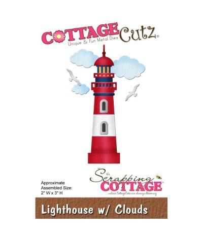 Stanzschablone Leuchtturm - Cottage Cutz