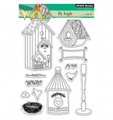 Fly High Clear Stempel - Penny Black