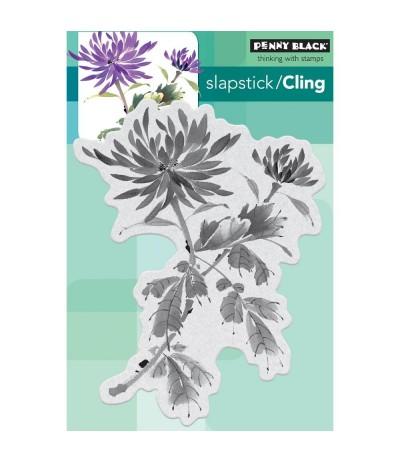 "Blume ""Bejeweled"" Cling Stempel - Penny Black"