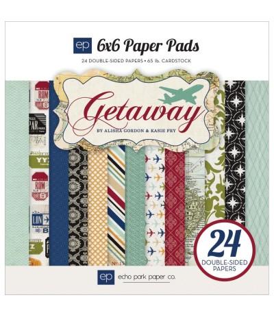 """Scrapbooking Papier Getaway 6x6"""" - Echo Park"""