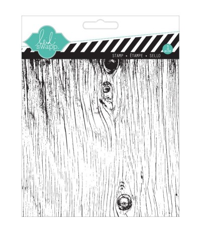 Woodgrain Clear Stamp - Heidi Swapp