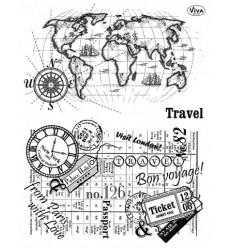 Clear Stempel Travel - Viva Decor