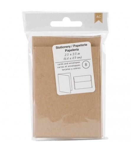 Mini-Karten mit Umschlägen - American Crafts