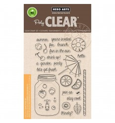 Let's Get Fresh Clear Stempel - Hero Arts