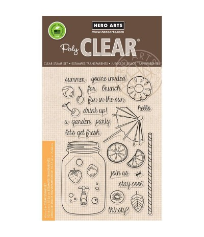 Let's Get Fresh Clear Stamps - Hero Arts