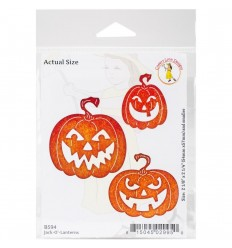 Stanzschablone Jack-O'-Lanterns - Cheery Lynn Designs