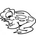 Mini Frosch Stempel
