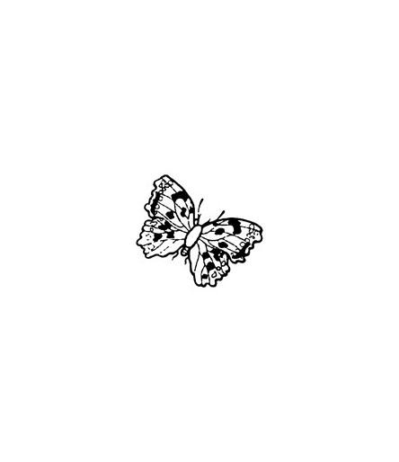 Mini Stempel Schmetterling