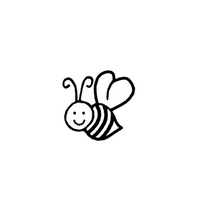 Mini Stempel Biene