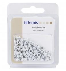 Eyelets / Ösen weiss 5mm - Artemio