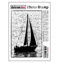 Sailboat Cling Stempel - Darkroom Door