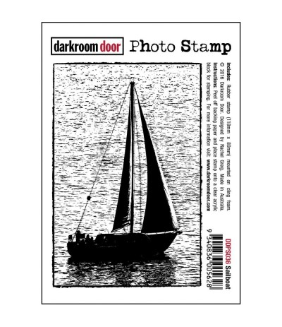 Sailboat Cling Stempel - Darkroom Door