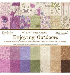 "Maja Design Scrapbooking Papier Enjoying Outdoors 6""x6"""
