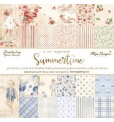 "Maja Design Scrapbooking Papier Summertime 6""x6"""