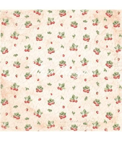 Taste the Strawberries - Summertime Scrapbooking Papier