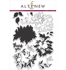Majestic Bloom Clear Stamps Set - Altenew