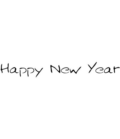 Happy New Year Stempel