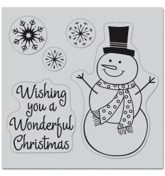 Wonderful Christmas Cling Stempel - Hero Arts