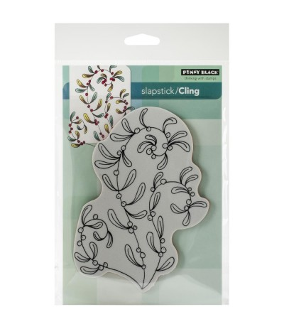 Sprightly Cling Stempel - Penny Black