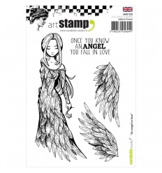 An Angel to Love Cling Stempel - Carabelle Studio
