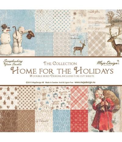 Maja Design Scrapbooking Papier Home for the Holidays