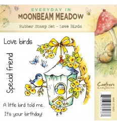Love Birds Cling Stempel - Crafters Companion