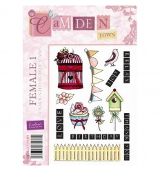Female 1 Cling Stempel - Crafters Companion