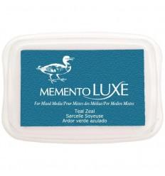 Teal Zeal Memento Luxe Stempelkissen - Tsukineko