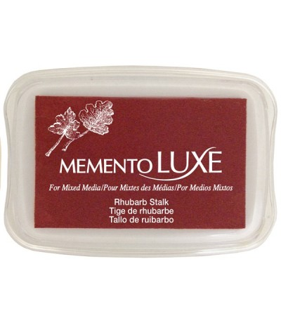 Rhubarb Stalk Memento Luxe Stempelkissen - Tsukineko