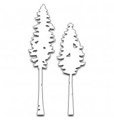 Fall Trees Stanzschablonen - Penny Black